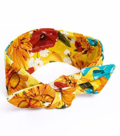 HEY POPINJAY Yellow Meadow Headband
