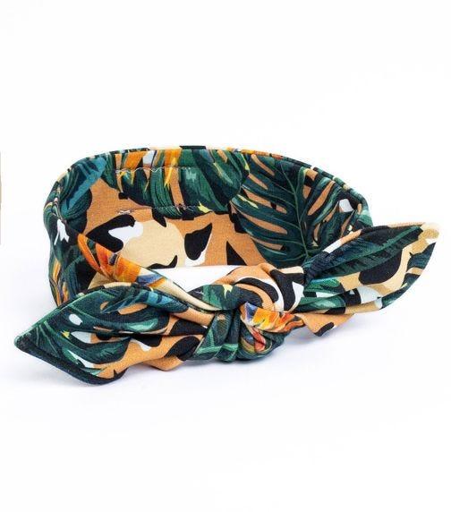 HEY POPINJAY Headband Jungle-Spots