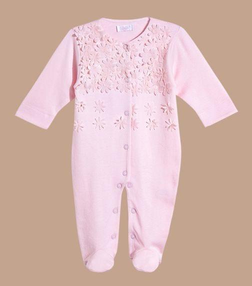 SOFIJA Ida Girl Babygrow In Pink