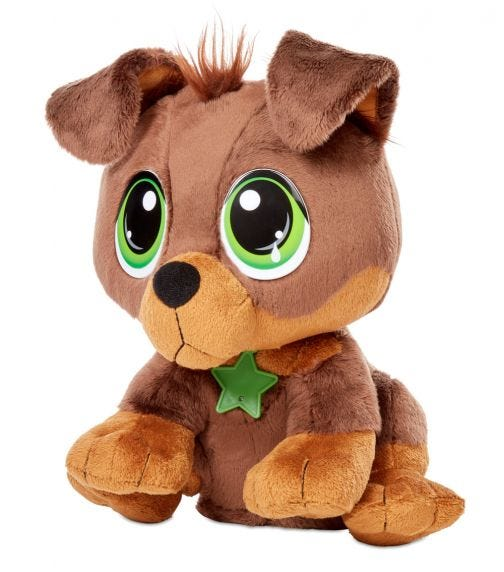 LITTLE TIKES Rescue Tales Interactive Plush - Rottweiler
