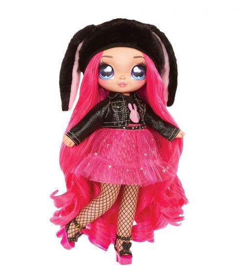 NA NA NA SURPRISE Black Bunny Doll