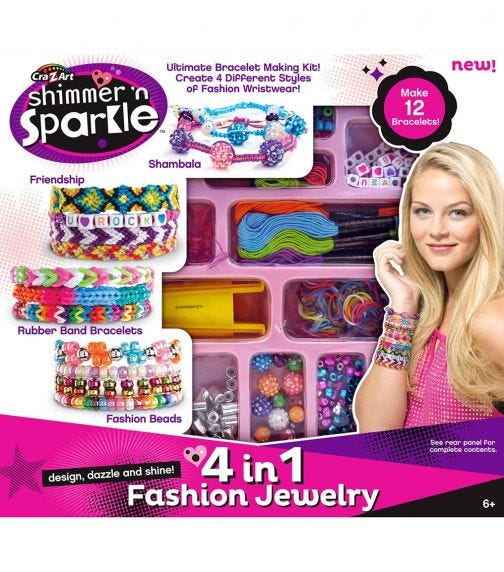 SHIMMER 'N SPARKLE 4-In-1 Jewelry Creations