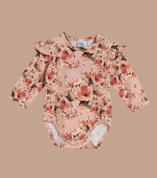 HEY POPINJAY Poppies Bodysuit With Frills