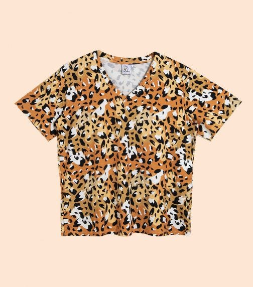 HEY POPINJAY Women's Jungle-Spots Amy T-Shirt