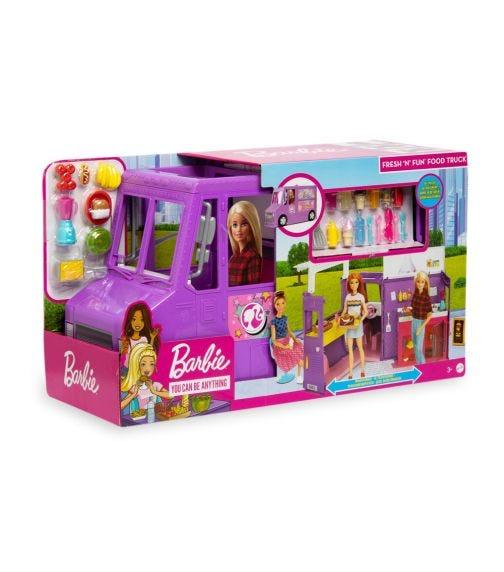 BARBIE Fresh 'N' Fun Food Truck (With Doll)