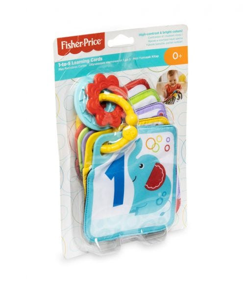FISHER PRICE Core - 1 To 5 Learning Cards