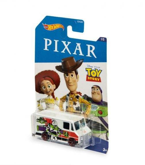 HOT WHEELS Themed Entertainment - Toy Story: Combat Medic