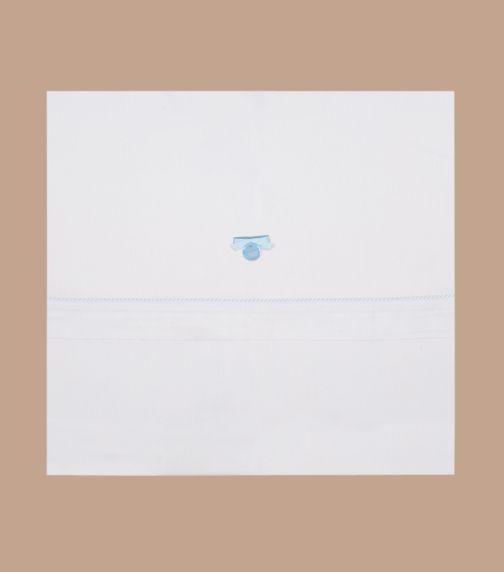 BIMBIDREAMS Blue Suiza 3-Piece Sheet Set
