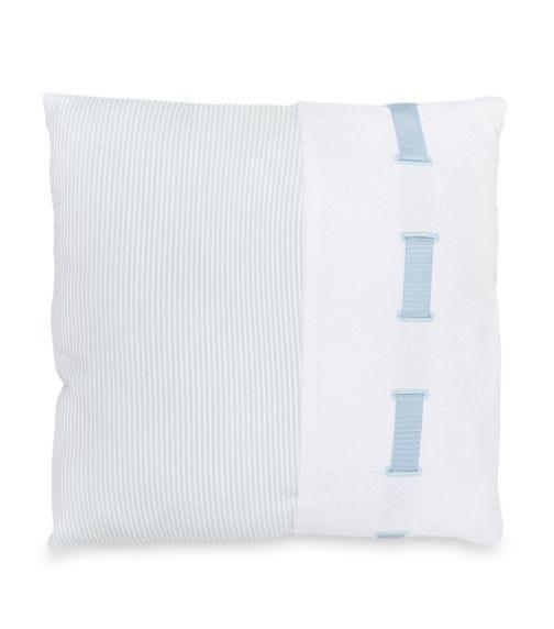 BIMBIDREAMS Suiza Blue Pillow