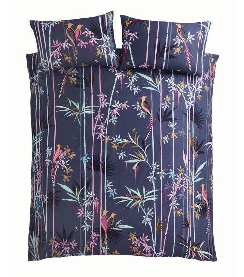 SARA MILLER Linear Bamboo - King Quilt Set (230 X 220 CM)