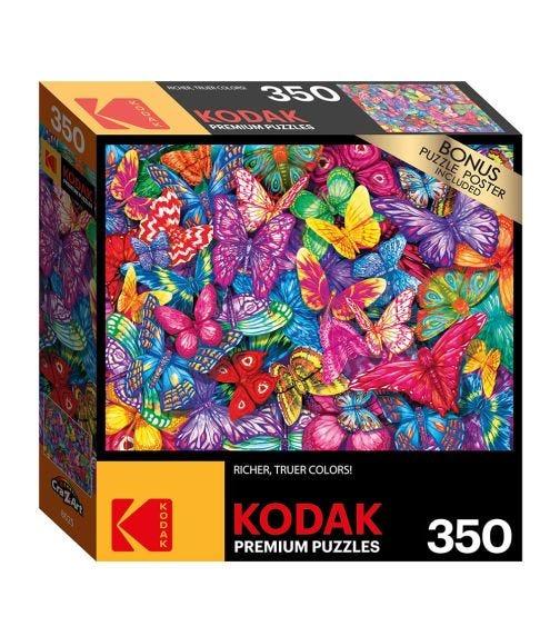 CRA-Z-ART Kodak 350 Pieces Puzzle - Colorful Butterflies