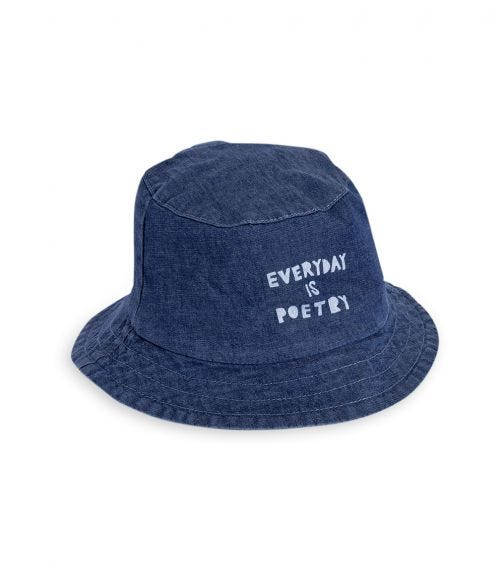 PINOKIO Every Day Is Poetry Hat