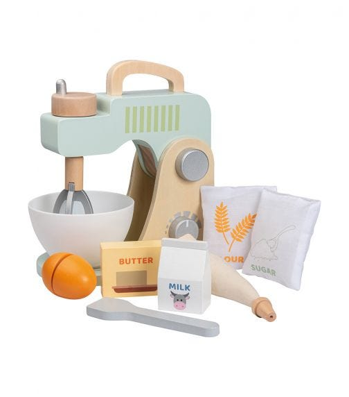 JOUECO Mixer And Baking Set In Box (10 Pieces)