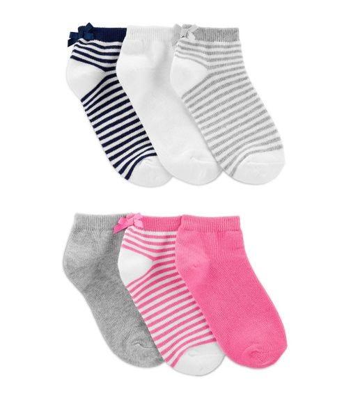 CARTER'S 6-Pack Ankle Socks