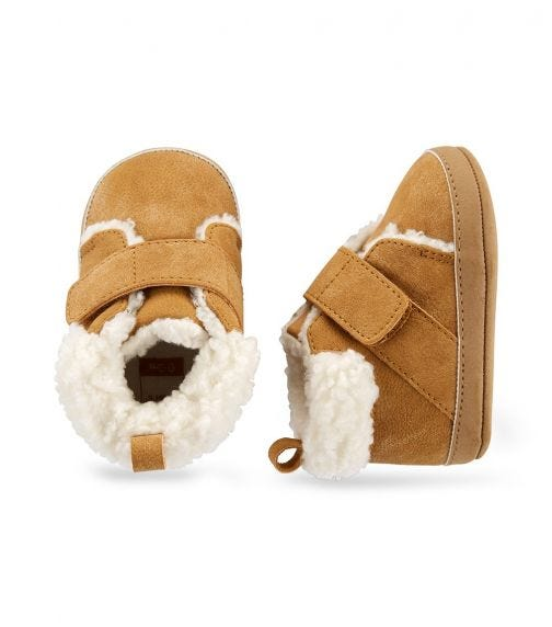 CARTER'S Sherpa Baby Shoes