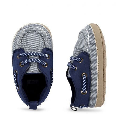 CARTER'S Boat Shoes - Blue