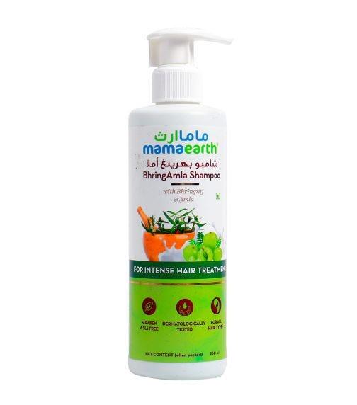 MAMAEARTH Bhring Amla Shampoo 250 ML