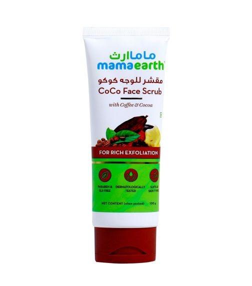 MAMAEARTH Coco Face Scrub 100 GM