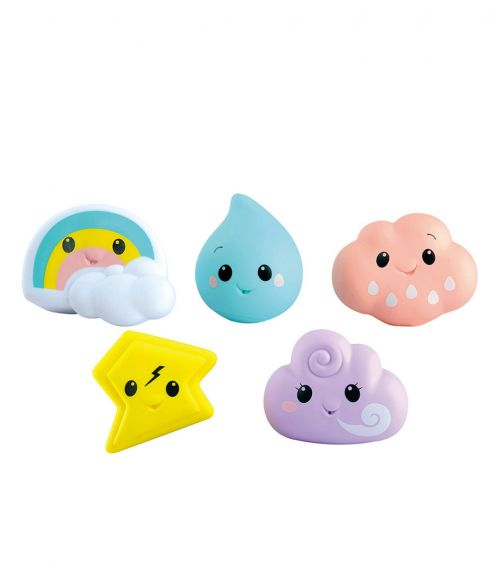 PLAYGO Bath time Weather Pals 5 Pieces