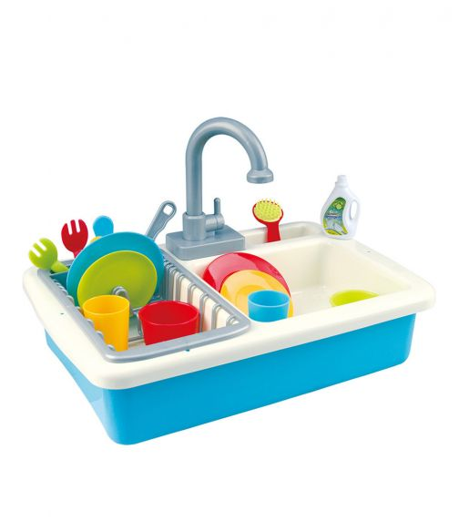 PLAYGO 20-Piece Wash-Up Kitchen Sink Set (Battery Operated)