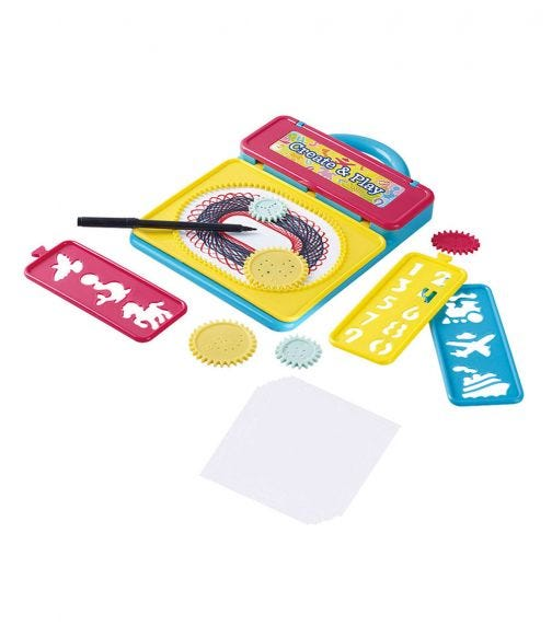 PLAYGO On The Go Whirl & Draw (21 Pieces)