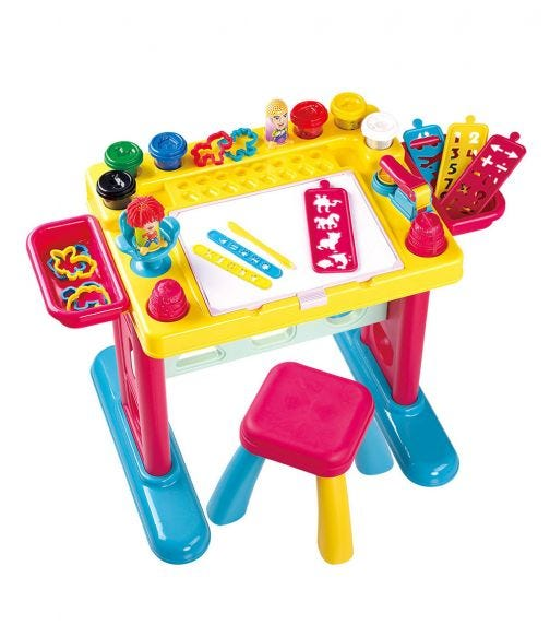 PLAYGO Cre-Activity Table (38+ Pieces)