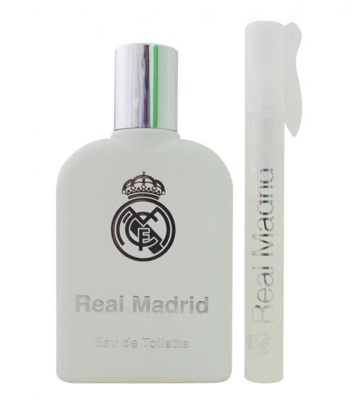 AIRVAL Real Madrid Zip Case EDT 100 ML + Perfume Pen 10 ML