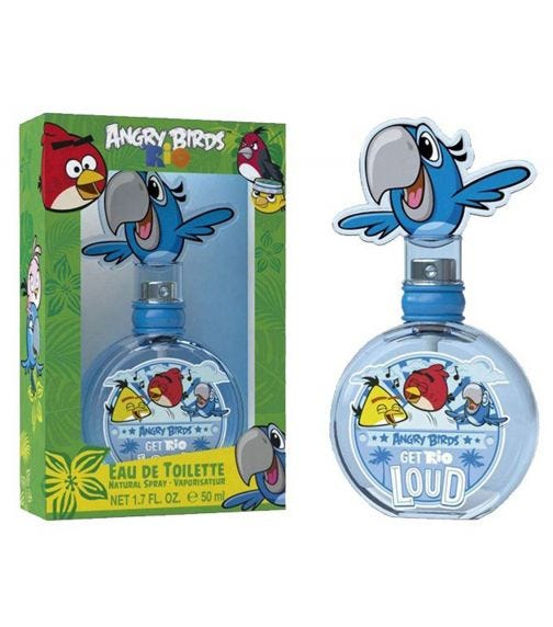 AIRVAL Angry Birds Rio EDT 50 ML