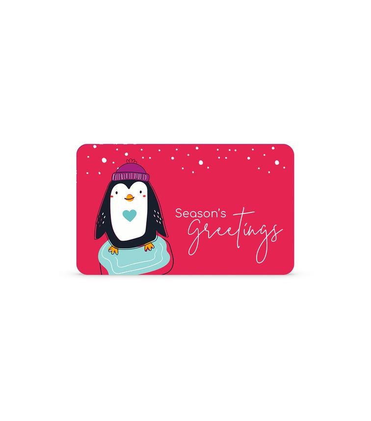 Holiday E-Gift Card
