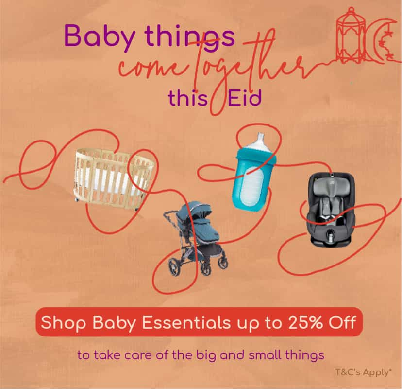 Baby things come together this Ramadan